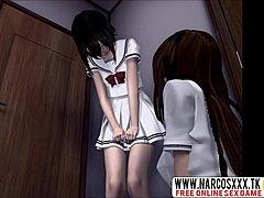 Anime tegnefilm med sex